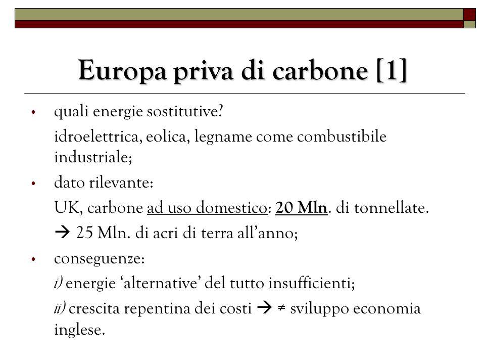 Europa priva di carbone [1]